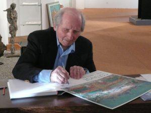 André Cottavoz séance de dédicaces